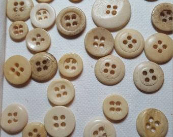 57 Vintage Lingerie Buttons