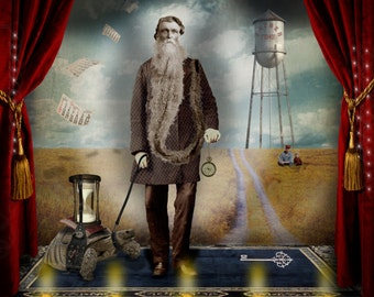 Father Time'' ....Fine Art Print
