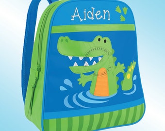 Backpack - Personalized and Embroidered - Go Go Bag - ALLIGATOR
