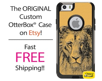 iPhone OtterBox Commuter Case for iPhone 7, 7 Plus, 6/6s, 6 Plus/6s Plus, 5/5s/SE, 5c Galaxy S7 S6 S5 Note 5Custom Lion King Line Art Sketch
