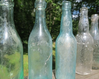 Antique Decorative Bottles (From Philadelphia in New York Regions) PRICE PER EACH