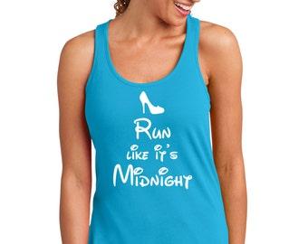 Run Like it's Midnight, Disney Marathon Tank, Disney marathon, half marathon, 13.1, run disney,