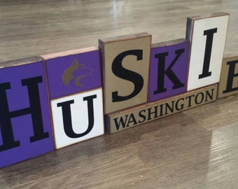 Washington Huskies Blocks