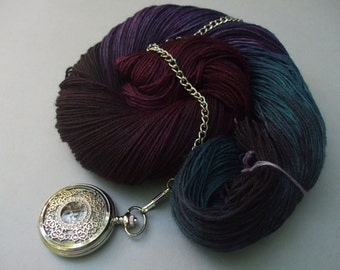 4 Ply New Zealand Polwarth Yarn. The Clock Struck Midnight