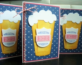 Congratulations Card, New Job Card, Graduation Card, Microbrew Card, Beer Lover Card