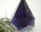 Large Geode Crystal Terrarium / Geode / Crystal Display