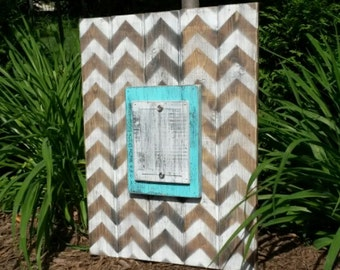 Wood plank picture frame, custom picture frames,