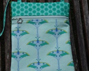 Luna Moths Cross Body Bag - Gifts Under 20