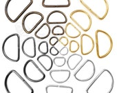 D-rings buckles different size for 10 15 20 25 30 35 40 50 mm  webbing, different colours available