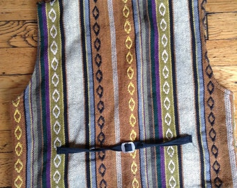 Vintage woven vest
