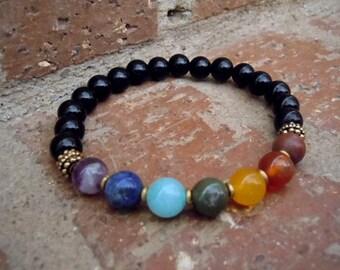 Balance / Chakra Wrist Mala / Yoga Bracelet / Chakra Jewelry / Yoga Jewelry / Mala Bracelet / Chakra Bracelet / Wrist Mala / Yoga
