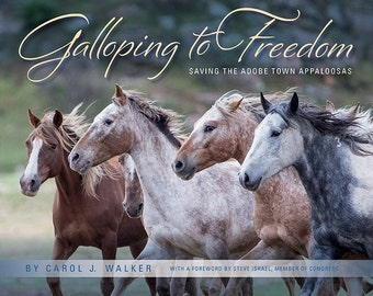 New! Galloping to Freedom: Saving the Adobe Town Appaloosas - Fine Art Wild Horse Photographs - Wild Horse