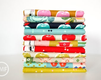 Picnic Fat Quarter Bundle, 11 Pieces, Melody Miller, Cotton+Steel, RJR Fabrics, 100% Cotton Fabric