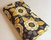 Travelers Notebook with Zipper Pocket - Custom Design Your Own in any of my In Shop Fabrics - Standard Size
