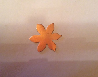 Copper Pointed Flower Blank
