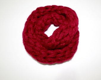 LOVE / Red  Scarf / Mitten /  sweet  / Handmade  scarf / Valentines day / Mother's Day Gift
