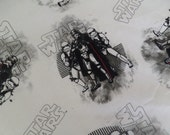 Private listing for JL . Star Wars special crib size fitted sheet . sewn by me