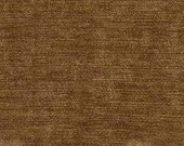 """Timeless Classic Chenille Upholstery Fabric - Durable - Washable - Soft hand - 56"""" wide - Polyester/Viscose - Color:  Nutmeg - Per Yard"""