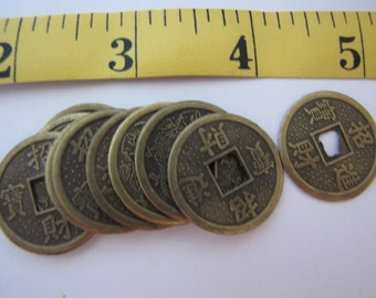 Chinese coins/craft supplies