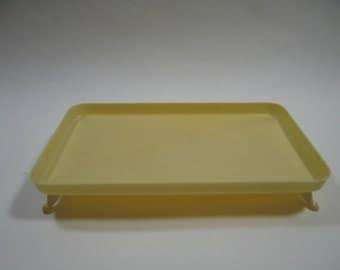 Celluloid Ivorine // Footed Dresser Tray // Vintage