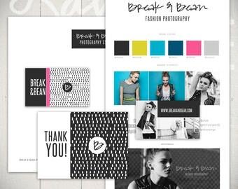 Brand Basics Template Set: Friendly Wave - Business Branding Templates