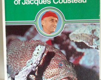 1973 The Ocean World of Jacques Cousteau Danbury Press