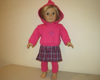 "18"" doll clothes to fit American Girl Dolls"