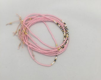 "Semaphore morsecode bracelet ""Smukke"" (Beautiful)"