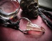 Raw Crystal Nimbus Necklace.  The Key.