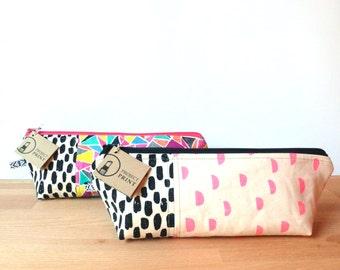 Personalized Makeup Bag, custom purse organizer, custom makeup bag, pencil bag