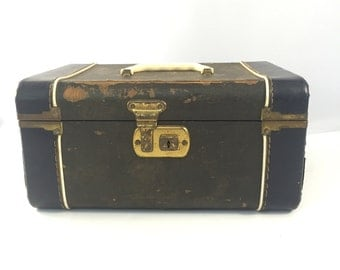 Vintage Train Case, Luggage, Vintage Travel