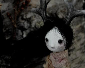 OOAK Art Doll- Woodland Daughter- Odila