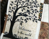 Life Journeys Signature Quilt Series, baby, child, WELCOME to the WORLD!