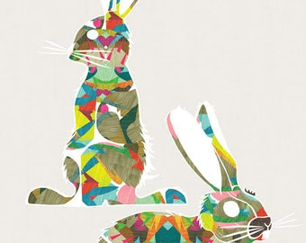 Lapine - Art Print