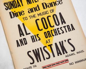 Vintage Massachusetts Poster