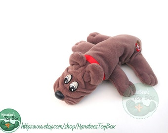 80s Pound Puppy by Tonka: Newborn Brown Pup