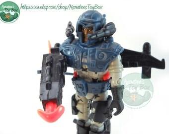 Exo Squad Captain Avery Butler in Ultralight Command E-Frame 90s Action Figure JD