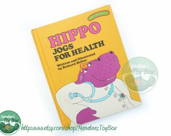 Vintage Sweet Pickles Book Hippo Jogs for Health
