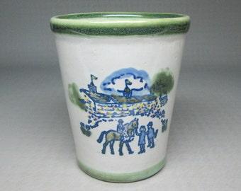 Louisville Stoneware Kentucky Derby cup , 107th , 1981