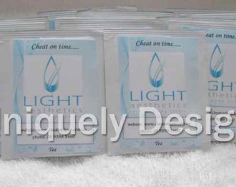 Promotional Item - Promotional Items - Business Card - Promotional - Advertising - Personalized tea bags