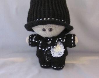 Crochet Groom  Amigurumi Baby Doll  Super cute, Wedding couple, Cuddly Baby Doll, Soft Toy, Waldorf Doll, Stuffed Doll, Rag  Doll