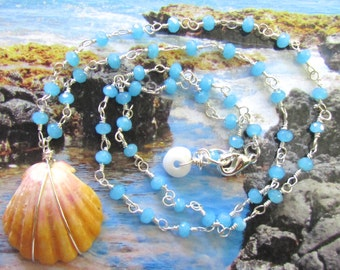 Endless Summer Sunrise Shell Necklace
