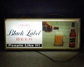 Vintage Lighted Bar Sign