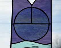 Peace Stained Glass Panel