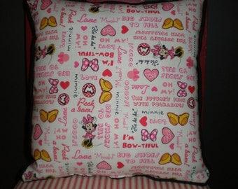 SALE Minnie Mouse Pillow