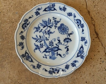 Blue Danube Bread Plates, Bread Plate, Blue Onion, Blue and White,
