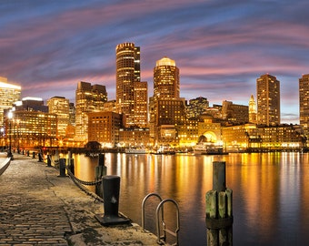 Photograph of the Boston Waterfront