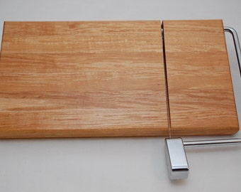 Handmade Maple Cheese Slicer Cutting Board