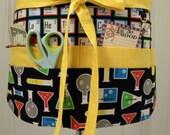 Teacher Crafter Vendor Utility Apron-Science Fair