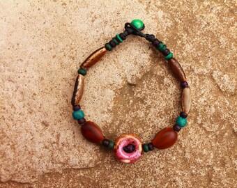 Natural seeds bracelet